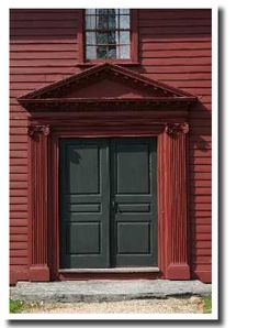 Historic home of the great century philosopher, maintained since 1899 by The National Society of The Colonial Dames of America in the State of Rhode Island George Berkeley, All About Doors, Church Ideas, Rhode Island, Museums, Colonial, Shabby, Decorating Ideas, Outdoor Decor