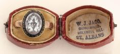 Captain James Cook mourning ring, owned by Elizabeth Cook, circa Mourning Ring, Mourning Jewelry, Elizabeth Cook, Whatever Forever, James Cook, Lovers Eyes, Post Mortem Photography, Momento Mori, Memorial Jewelry