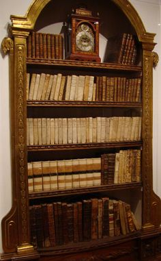 18th Century Library - https://flic.kr/p/55mqWN | Books | Museo Franz Mayer, Mexico City - 18th century library.