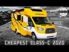 Top 9 Reasonably-Priced Motorhomes within the C-Class Camper Category Class C Campers, Class C Rv, Travel Trailer Camping, Travel Trailers, Leisure Travel Vans, Travel Tips, Cool Camping Gadgets, Class C Motorhomes, Benz Sprinter