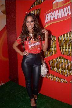 Bruna Marquezine no carnaval carioca, em 2014. Foto: Marcello Bravo/Divulgação