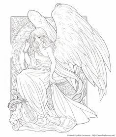 165 Best Coloring Faiyies Images Elves Drawings Of Fairies