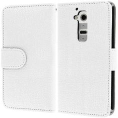 myLife Ghost White {Classic Design} Faux Leather (Multipurpose - Card, Cash and ID Holder + Magnetic Closing) Folio Slimfold Wallet for the ...