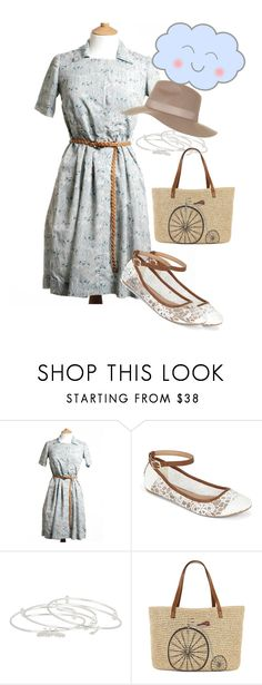 """""""dress"""" by masayuki4499 ❤ liked on Polyvore featuring Call it SPRING, Alex and Ani, Straw Studios and Topshop"""