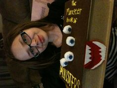 Harry Potter Monster Book of Monsters Valentine's box (my daughter Colleen)
