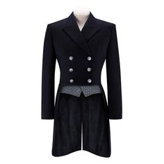 RJ Classics Ladies Renvers Dressage Shadbelly - Black