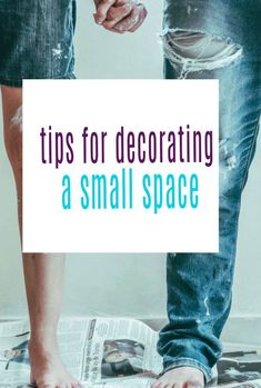 Top tips ideas and hacks for decorating and painting a small space in your small home #smallroom #smallhome #diy #decorating