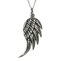 Angel Wing Necklace, $68, now featured on Fab.