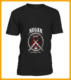 Shirt NEGAN and LUCILLE For Ever front - Vegan shirts (*Partner-Link)