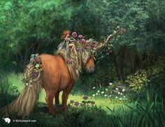 Year of the Unicorn: June by kirileonard