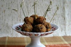Fried Stuffing balls... sick and wrong or amazing?? Can't decide