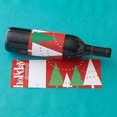 printable wine label