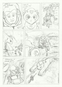 M.REDONDO- Comics: * Curso de Academia de Cómic: Dibujo 3