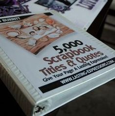 5,000 scrapbook titles & quotes: printable download or ebook