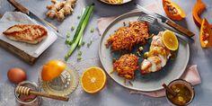 Boodschappen - Pompoenrösti met kalkoen en sinaasappelsaus