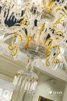 Crystal chandelier DINASTIA designed specifically for luxury ...