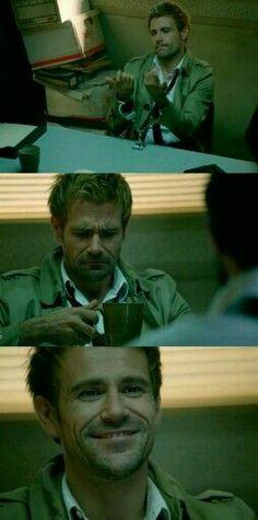 Matt Ryan as Constantine  #SaveConstantine #BringConstantineBack #IStandWithConstantine and always will