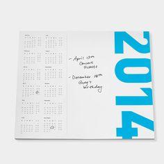 MoMA デスクパッド カレンダー 2014:() MoMA STOREの通販 | モダンでアートなワークスペース、カレンダーを通信販売で