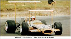 1969 South African Grand Prix. Lotus F1, Ford, Nascar Sprint Cup, F1 Drivers, Karting, Drag Racing, Auto Racing, Car And Driver, Formula One