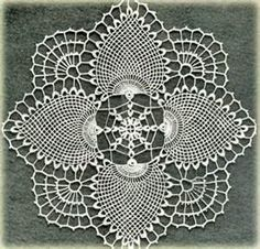 Beautiful Doily Crochet Pattern
