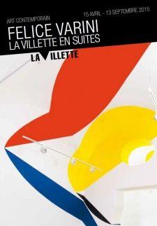 Felice Varini la Villette en Suites - Parc de la Villette (Paris 19e) - juin 2015