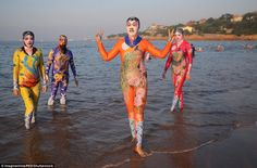 Zhang Shifan, 60, invented the facekini and courted customers by promising to…