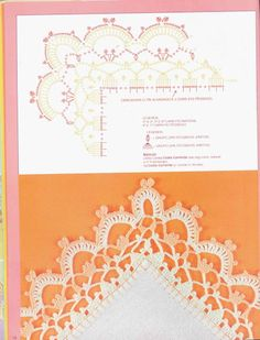 crochet - bicos/barrados com cantos - corners - Raissa Tavares - Λευκώματα Iστού…