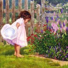 Lil One in Garden