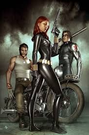 Black Widow: Deadly Origins Cover: Black Widow, Bucky and Wolverine by Brandon Peterson Marvel Comics Poster - 61 x 91 cm Marvel Dc Comics, Hq Marvel, Marvel Heroes, Marvel Women, Marvel Comic Character, Comic Book Characters, Marvel Characters, Comic Books, Female Characters