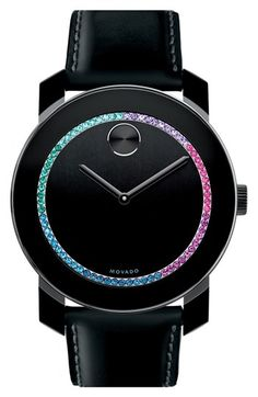Movado 'Bold' Crystal Spectrum Watch, 42mm available at #Nordstrom