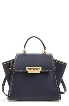 ZAC Zac Posen 'Eartha' Calfskin Leather Top Handle Satchel available at #Nordstrom