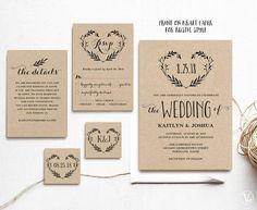 FREE Printable Wedding Invitation Template Free wedding invitation