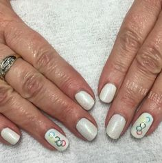 Image result for olympic nail art manicure