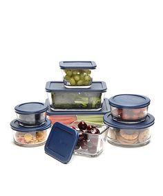 Look at this #zulilyfind! Blue Eight-Piece Kitchen Storage Set #zulilyfinds