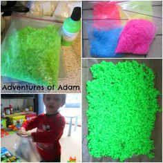 Adventures of Adam making neon rice