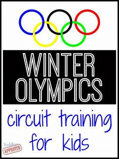 Toddler Approved!: Toddler Approved Winter Olympics Circuit {Fun for the Family as we count down to the Winter Olympics}