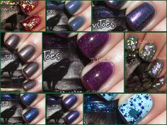 The PolishAholic: CrowsToes One Mad, Crazy Summer Collection Swatches