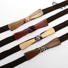 "OKTIE - wooden accessories: OKTIE Wood Bow Tie Classic Series ""25S"" NEW skinny..."