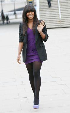 Alexandra Burke in pantyhose - http://stockings-celebs.blogspot.com/2014/09/alexandra-burke-amber-anderson-amber-le.html