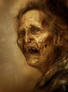 Old Lady Half-Breed by aaronsimscompany on DeviantArt
