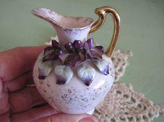 Vintage+Lefton+China+miniature+pitcher++Pink+by+KatyjeansAttic,+$9.00