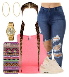 A little hips never hurt nobody.(: by myra-moore on Polyvore featuring polyvore, fashion, style, H&M, NIKE, Invicta, Loren Stewart and ASOS