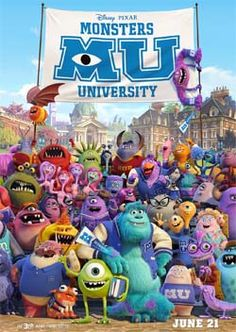 Monsters University (Disney Pixar) movie review on Daddy Forever dad blog