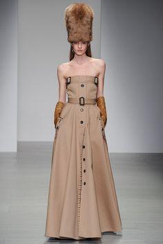 Daks   Fall/Winter 2014 Ready-to-Wear Collection via Designer Filippo Scuffi   Modeled by Cristina Mantas    February 14 2014; London