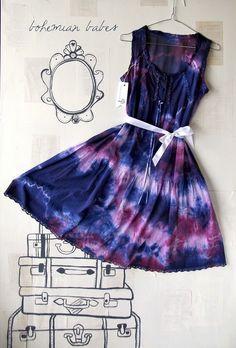 Tie dye bridesmaid dresses? cool