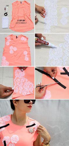 lace- tshirt
