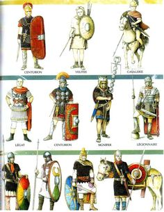 Roman Army Evolution Part 1 by Fall3NAiRBoRnE.deviantart.com on @deviantART