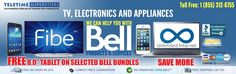 We can help you with Bell products and services - cellphone, bell tv, bell wireless, bell internet, wireless