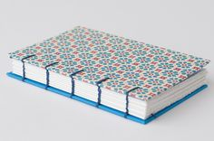 Blue Flower Power Notebook £8.50