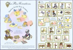 Sue Box Creations | Download Embroidery Designs | 15 - Timeless Teddy Bear Treasures